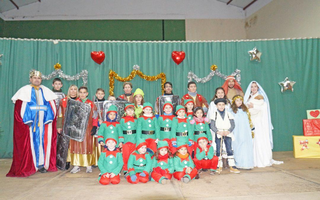 La Cabalgata de los Reyes Magos en Nombela