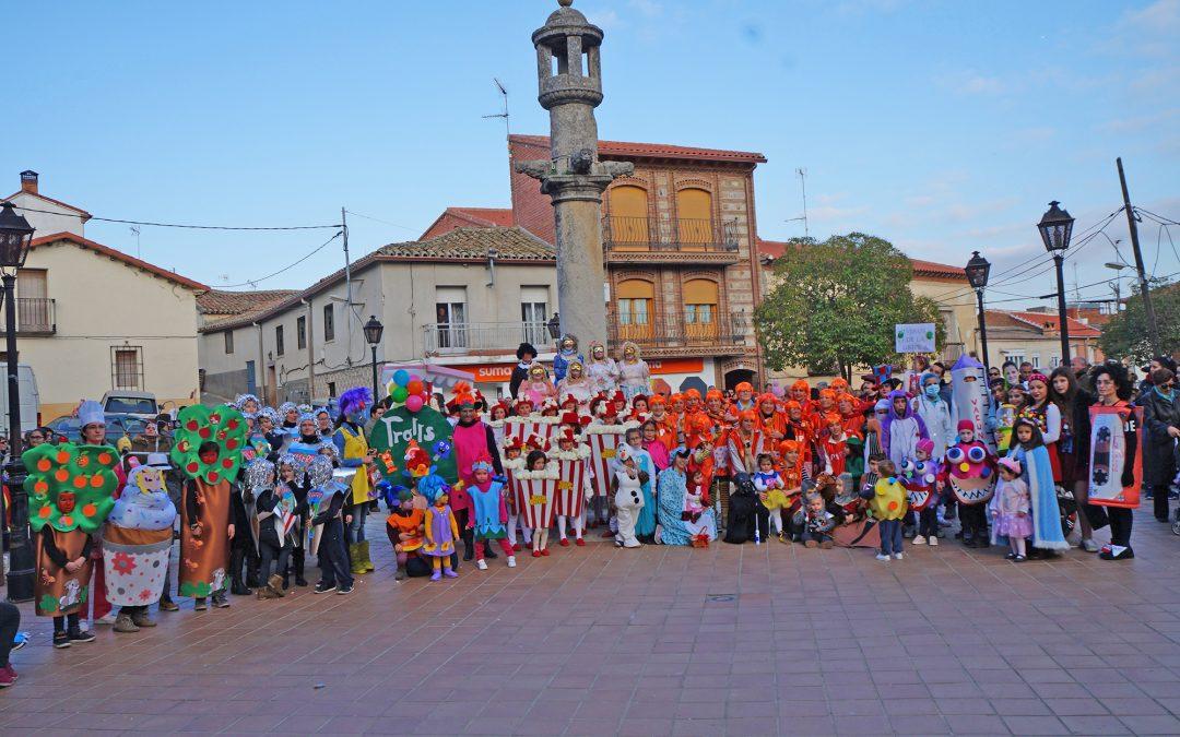 Color, belleza y diversión en los Carnavales de Nombela