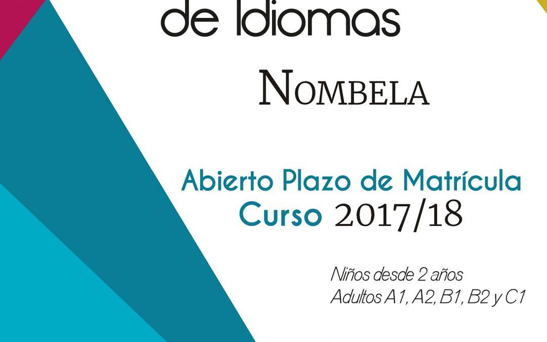 Abierto Plazo de Matrícula Escuela Municipal de Idiomas